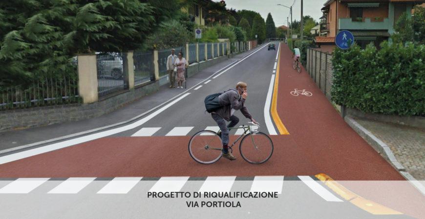 A Uboldo percorsi ciclo-pedonali e marciapiedi